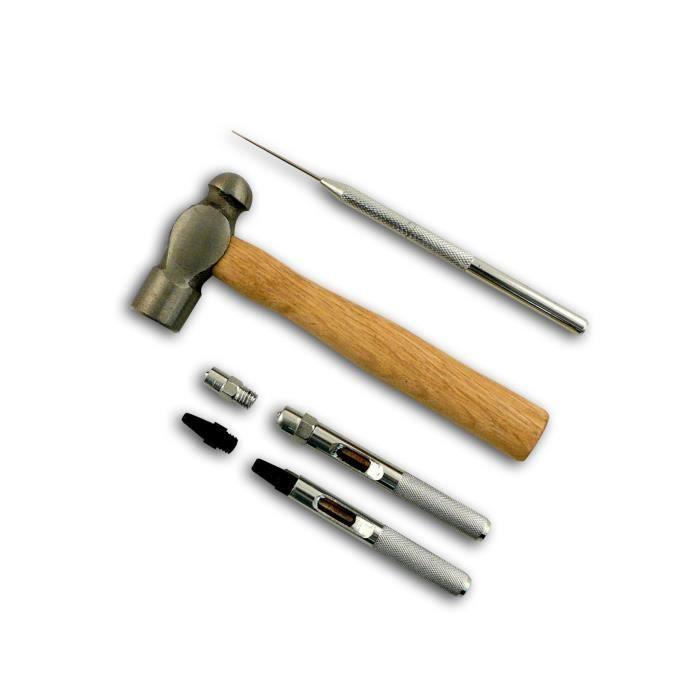 MAHE Lot de 6 outils pour Œillets