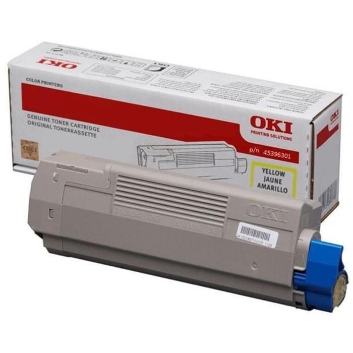 OKI Cartouche de toner MC760, MC770, MC780 - Jaune