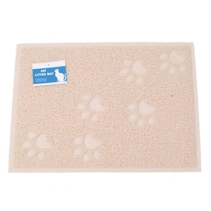 Cat Litter Mat - Safe & Non-toxic Soft Easy On The Paws Waterproof Easy- I951z