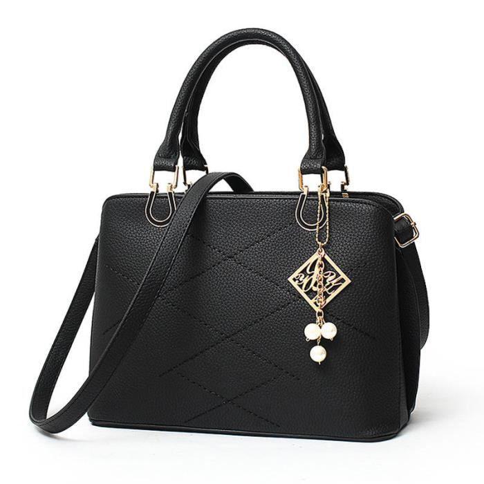 sac femme de marque sac à main femme de marque Sac Femme De Marque De Luxe En Cuir qualité supérieure noir Haut qualité