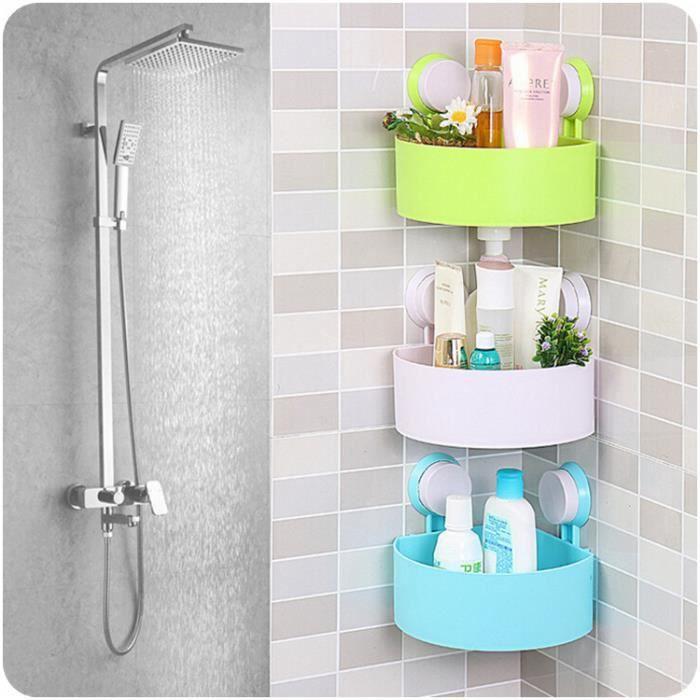 Belle salle de bains coin rack de stockage organisateur de for Accessoires salle bain haut gamme