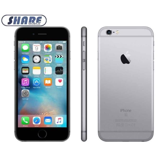 Apple Iphone 6s 64 Go Gris Reconditionne Achat Smartphone Recond
