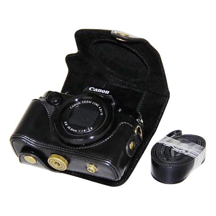 Housse canon g5x achat vente pas cher cdiscount for Housse appareil photo canon