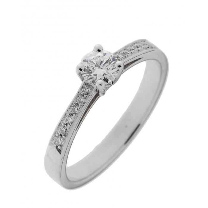 Bague Or 750 Diamant ref 42488