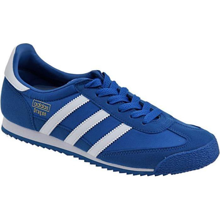 adidas dragon bleu cdiscount