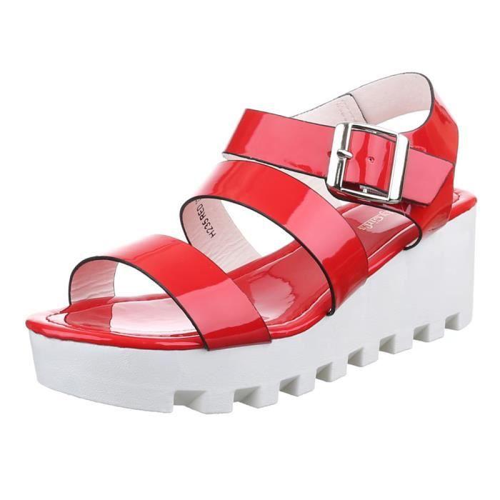 Femme sandale chaussure de Dianette Plateau Femme chaussure UOhYhCNHZ