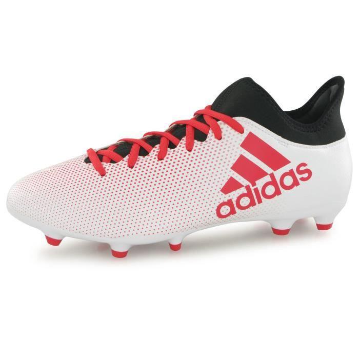 Adidas Performance X 17.3 Fg blanc, chaussures de football