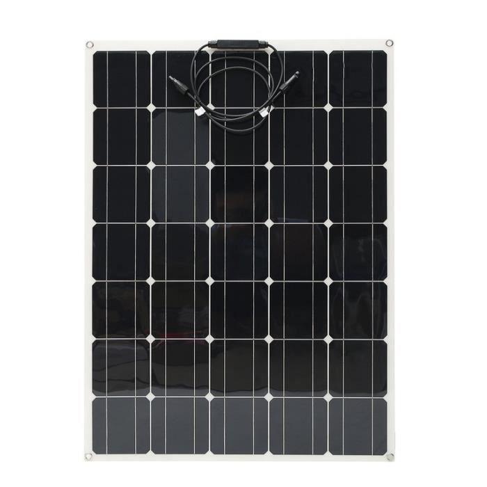 KIT PHOTOVOLTAIQUE Panneau solaire monocristallin 150W avec connecteu