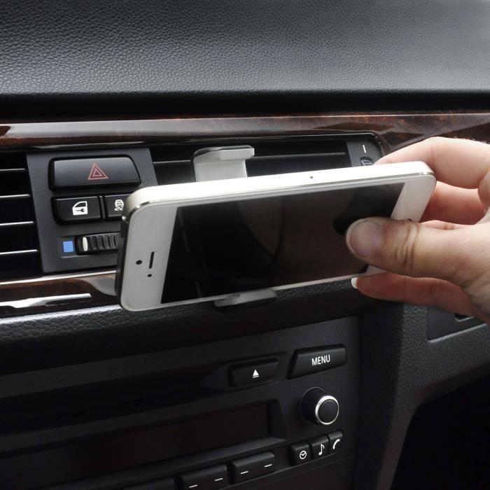 VeoPulse Support téléphone auto orientable grille d aération - I ... 136cb55c215a