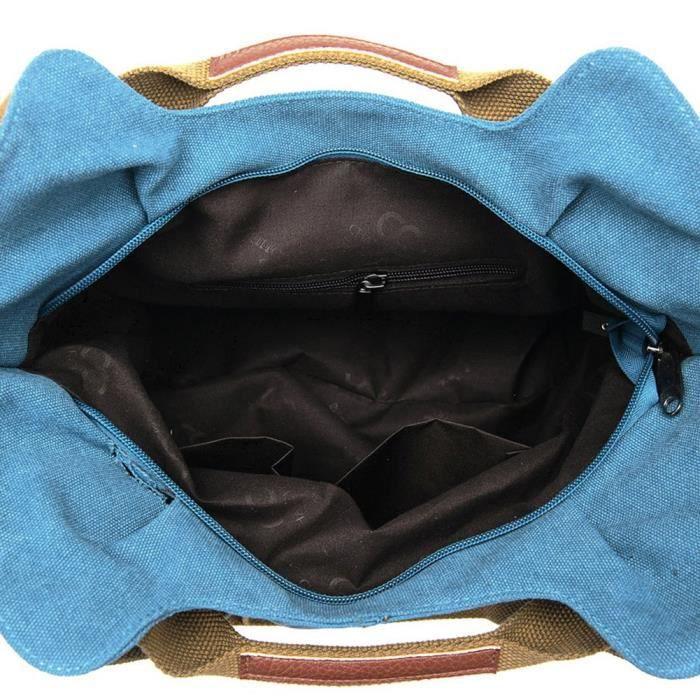 Vintage Ladies Hobo Daily Canvas Sac poignée sur le dessus dépaule fourre-tout Sac fourre TTN5L