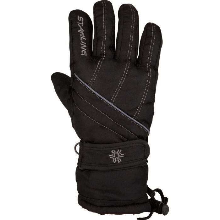 STARLING Gants de Ski Adulte - Noir