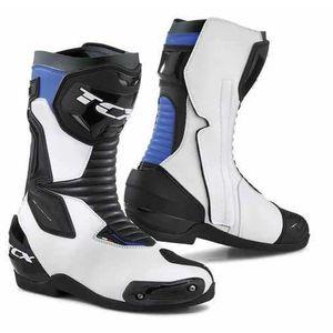 CHAUSSURE - BOTTE TCX Bottes de moto SP-Master - Blanc / Noir / Bleu
