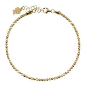 BRACELET - GOURMETTE CLIO BLUE Bracelet Argent Dore Jaune Br2365D - BR2