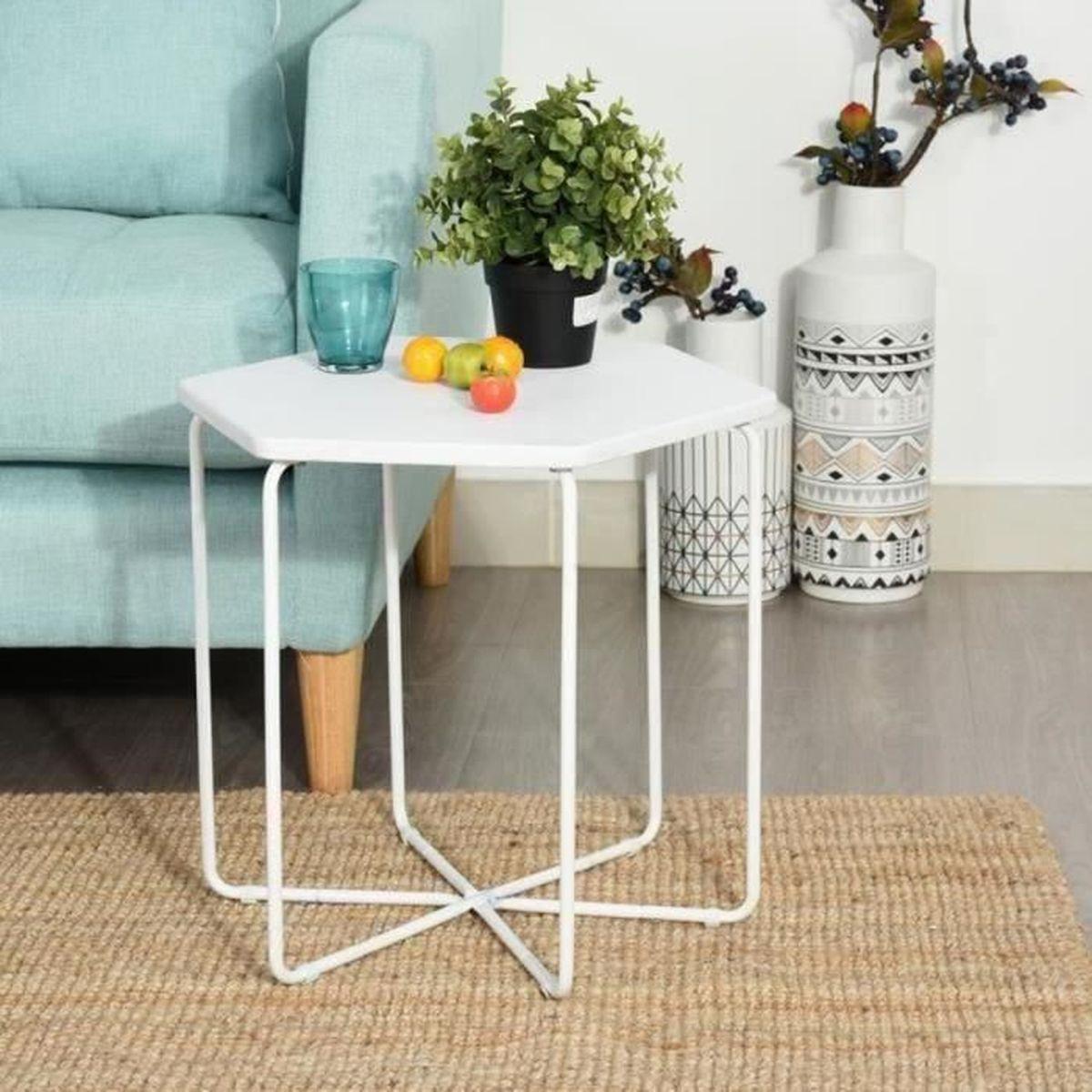 Table Basse Hexagonale Achat Vente Pas Cher