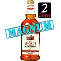 WHISKY BOURBON SCOTCH Sir Edwards Magnum 40% 2L