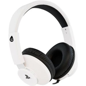 CASQUE AVEC MICROPHONE Casque Stereo Gaming pour PS4 Blanc