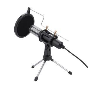 MICROPHONE CESAR Microphone à condensateur avec connecteur tr