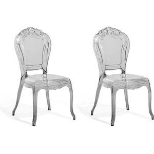 lot de 2 chaises de salle a manger noire transpare Résultat Supérieur 15 Incroyable Fauteuil Salle A Manger Und Chaise Plastique Transparent Pour Deco Chambre Pic 2018 Hgd6