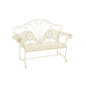 banc de jardin en m tal achat vente pas cher soldes d s le 10 janvier cdiscount. Black Bedroom Furniture Sets. Home Design Ideas