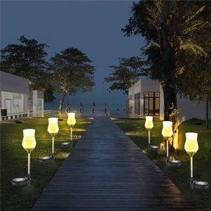 60 led lampe solaire pour jardin - Achat / Vente pas cher