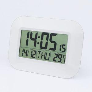 89625d58b9df77 HORLOGE - PENDULE Horloge murale avec calendrier perpétuel - Réveil