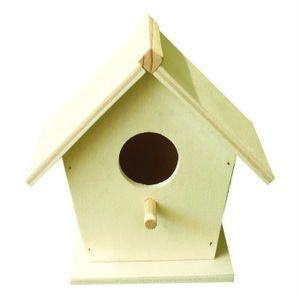 nichoir oiseaux bois achat vente pas cher. Black Bedroom Furniture Sets. Home Design Ideas