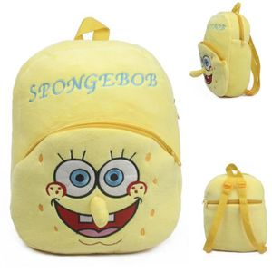 MP3 ENFANT Enfants mignons SpongeBob jouets en peluche sac à
