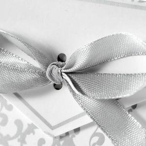 BOÎTE À DRAGÉES Lot de 100 Boîte à dragées pour mariage avec ruban