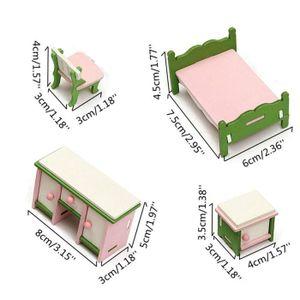 maison poupe tempsa ensemble de miniature meuble en bois pour m