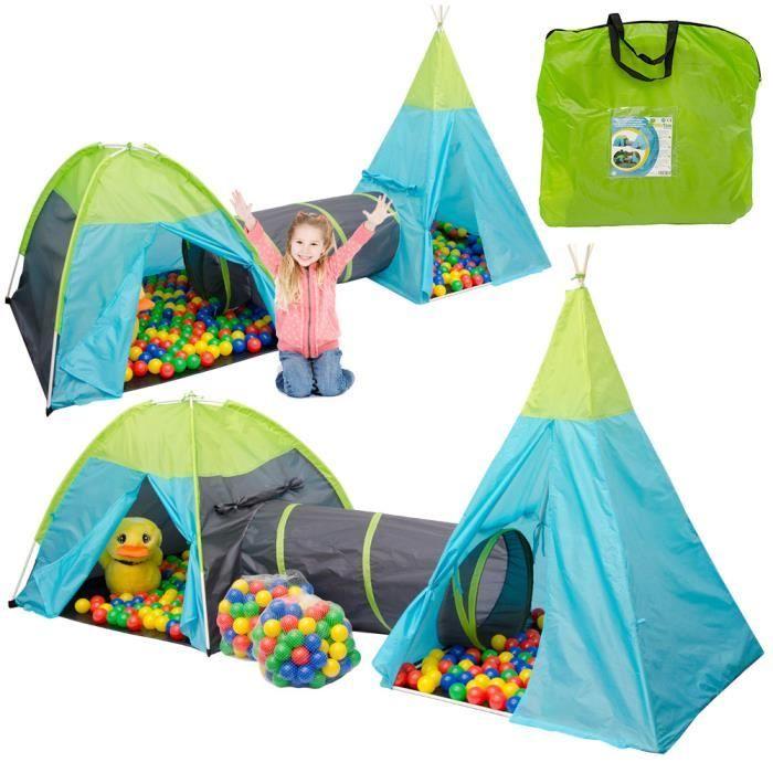 PISCINE À BALLES Tente de Jeu pour enfants Pocahontas + 200 balles