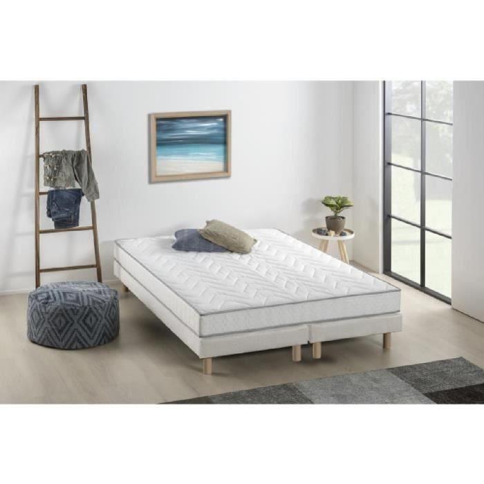 ensemble matelas sommier 180x200 memoire de forme achat vente pas cher. Black Bedroom Furniture Sets. Home Design Ideas