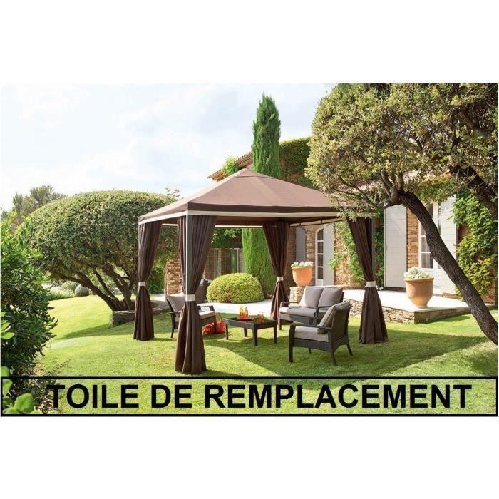 TOILE DE REMPLACEMENT POUR TONNELLE AVIGNON - Toile de rechange pour ...