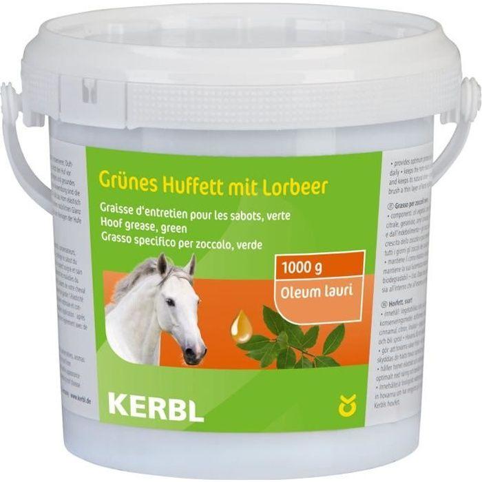 KIT DE SOIN - HYGIÈNE KERBL Graisse pour sabot - 1000ml - Vert - Pour ch