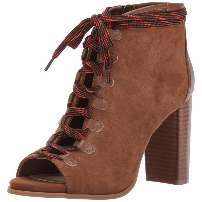 Nine West Punkrock Suede Ankle Boot BX0AP Taille-39 1-2