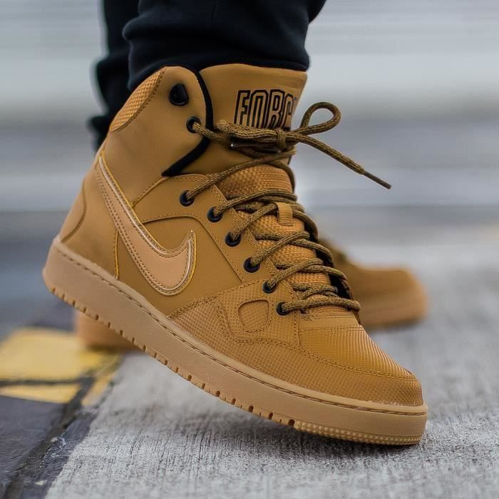 designer fashion 1b993 9736e BASKET Baskets Nike Son Of Force Mid Winter (GS) 807392 7