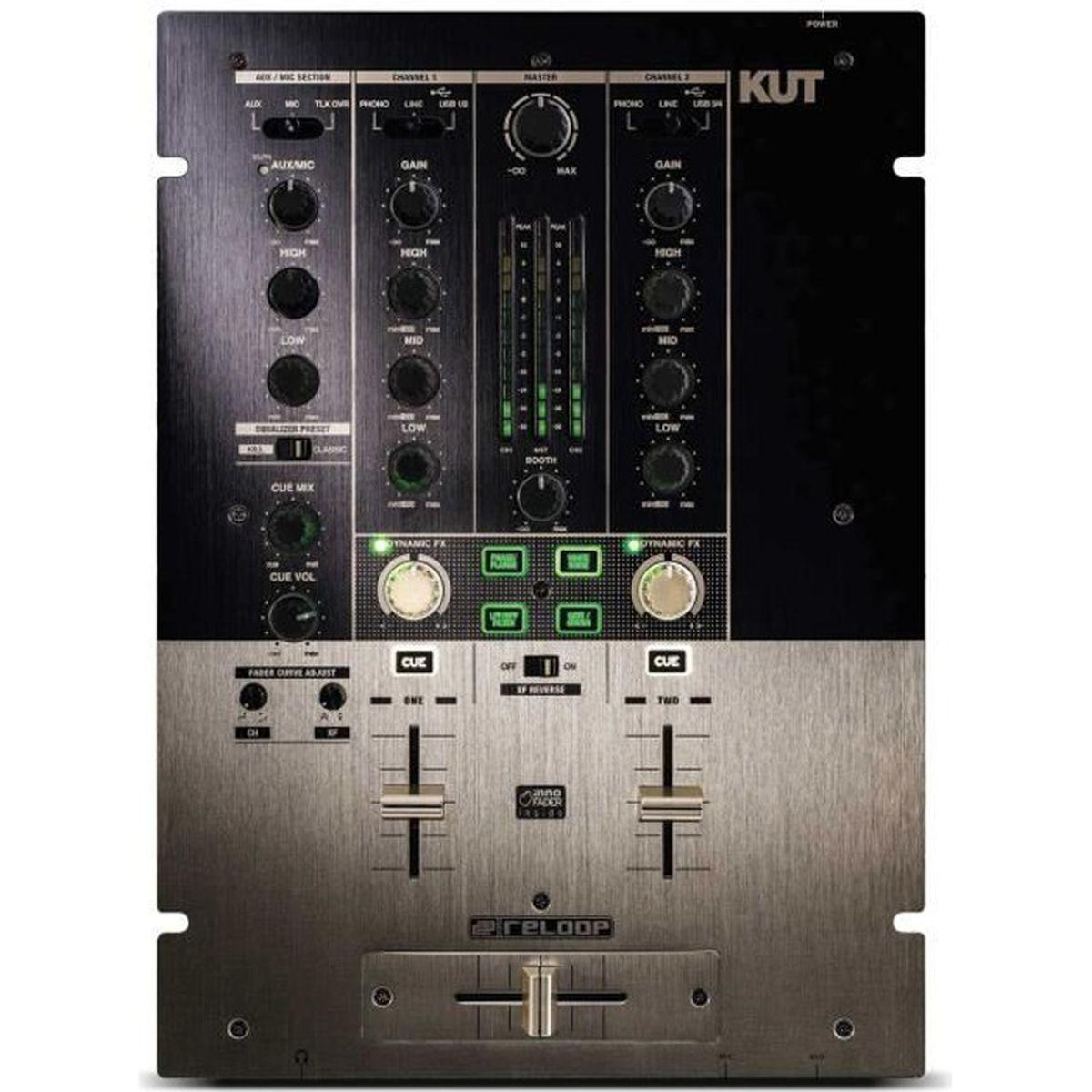 TABLE DE MIXAGE Tables de Mixage D.J. Reloop KUT - Console de mixa