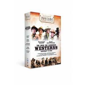 DVD FILM DVD Coffret Budd Boetticher et Randolph Scott :...
