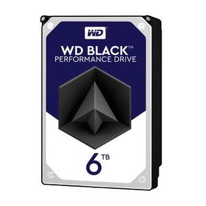 Western Digital HDD Black WD6002FZWX - 6To 128Mo - 3.5\