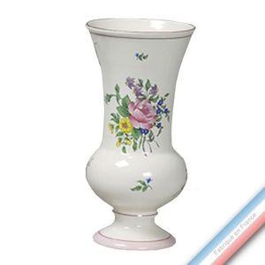VASE - SOLIFLORE Collection REVERBERE déco  - Vase à Pied EVase Lou