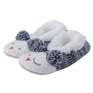 CHAUSSON - PANTOUFLE Women's Fuzzy Christmas Animal House Slippers Cute
