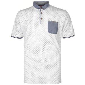 POLO Pierre Cardin Ourlet Imprimé Polo T-Shirt Manche C