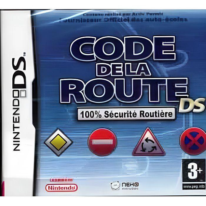 JEU DS - DSI CODE DE LA ROUTE / JEU CONSOLE NINTENDO DS