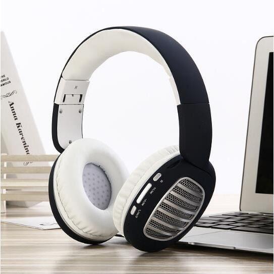 CASQUE - ÉCOUTEURS Sans Fil Bluetooth Casque avec Micro Sans Fil Blue