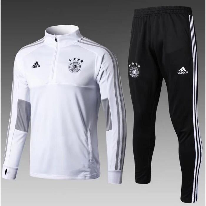 bas de jogging foot adidas homme noir et blanc