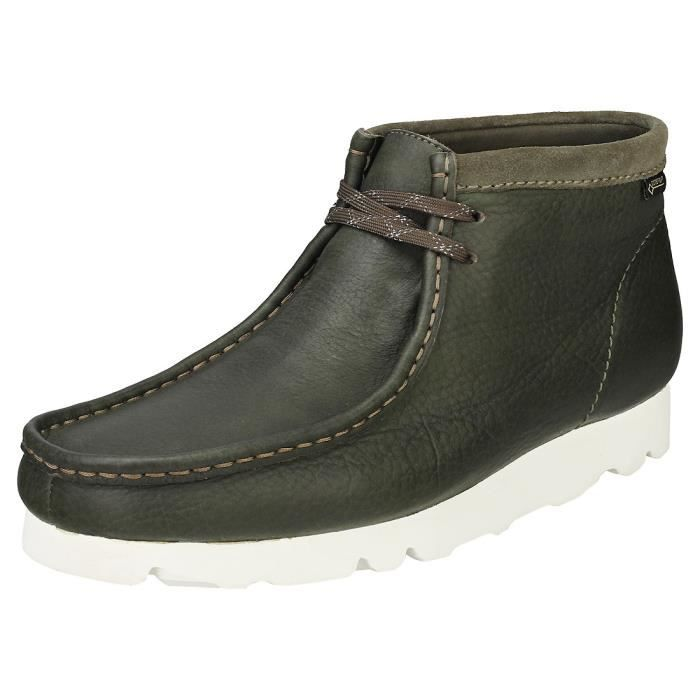 Gore Bottes Wallabee Chukka Boot Clarks Olive Tex Originals Homme Owntwzfq