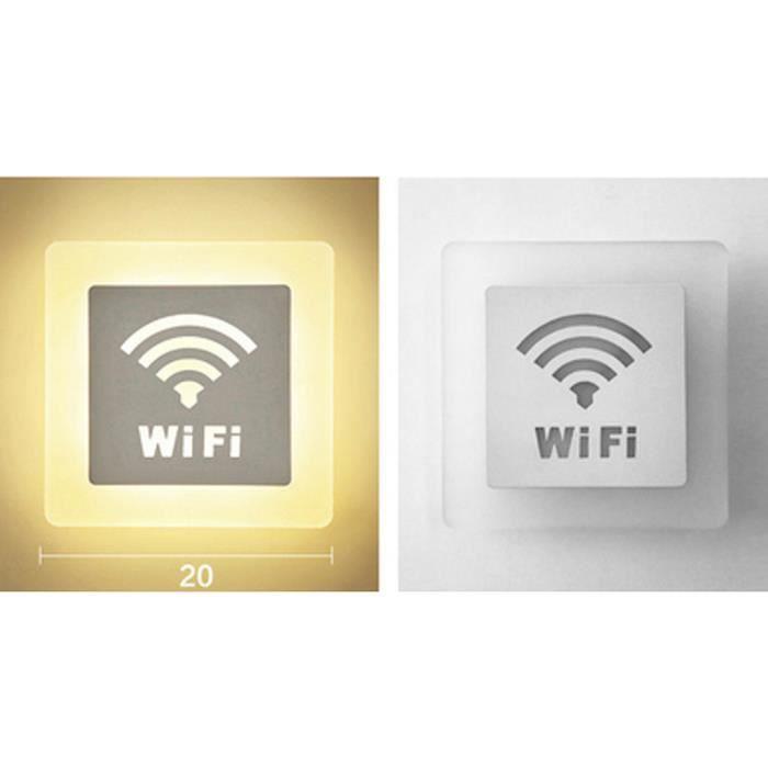 Décorative En Télécommande Applique Lampe Dimmable 15 Intérieur Led Avec A179 Acrylique Moderne Luminaire Murale Wifi knNPX8O0w