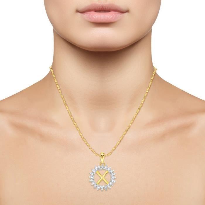 ... Lettre de femmes Vk Bijoux Alphabet Collection Brass alliage dor Cz  américain diamant Alphabet PendentifDOXVP ... 7369f2357dac