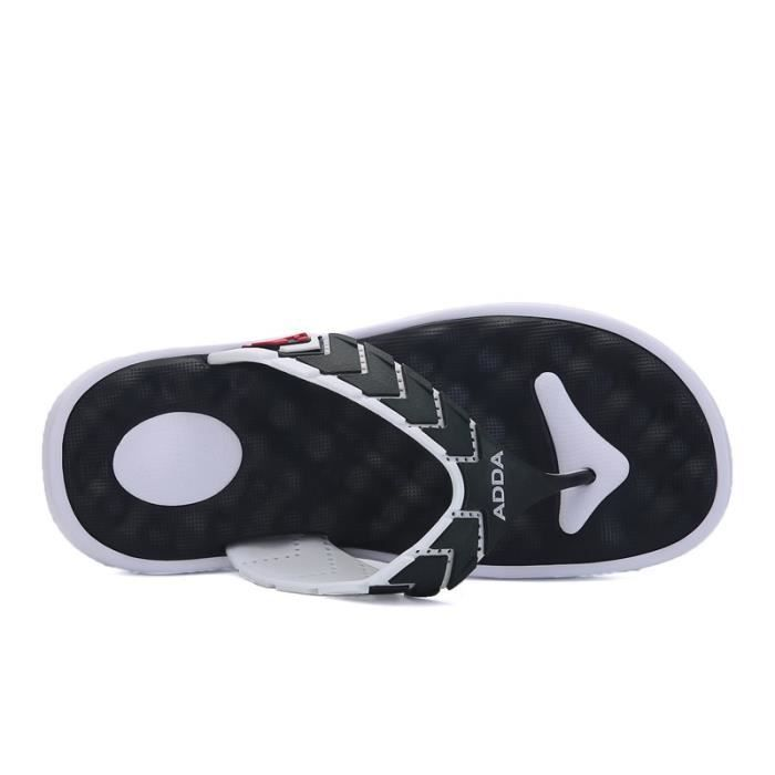 Hommes Plage Massage Slipper Casual Chinelo Masculino Sandales Mode Hommes