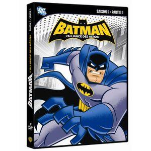 DVD DESSIN ANIMÉ DVD Batman : l'alliance des heros, saison 2, vo...