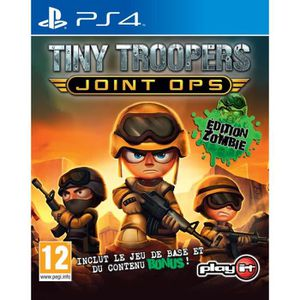 JEU PS4 Tiny Troopers Joint Ops Zombie Edition Jeu PS4